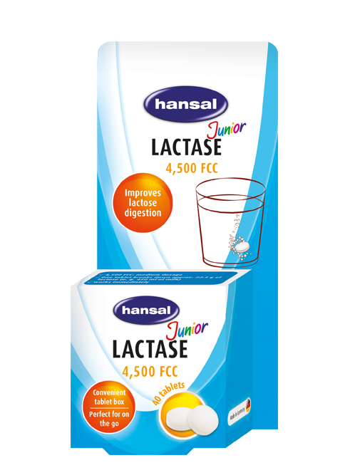 Laktase Junior 4.500 Tabletten