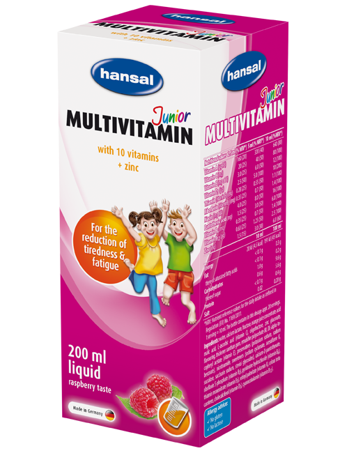 Multivitamin Junior Liquid